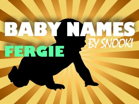 Fergie Baby Names by Snooki