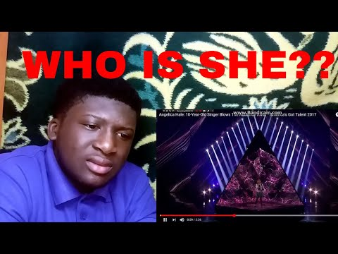 ANGELICA HALE - SEMI FINAL PERFORMANCE(WITHOUT YOU) - REACTION