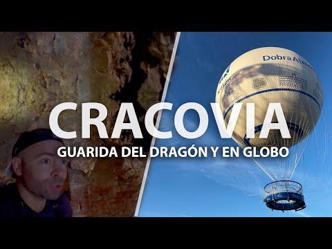 🐲 La guarida del Dragón y en Globo por Cracovia. Guía Polonia 🇵🇱 Molaviajar