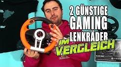 Gaming Lenkrad Vergleich - Speedlink Drift OZ & Black Bolt I Unboxing