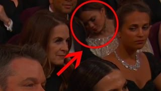 Chrissy Teigen Hilariously Responds to Falling Asleep at the Oscars!