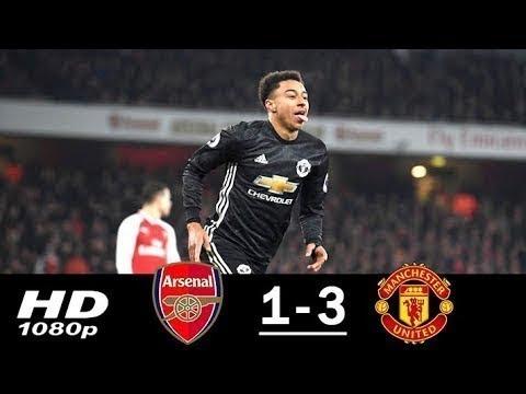 Download Arsenal vs Manchester United 1 3 Highlights Goals Premier League HD