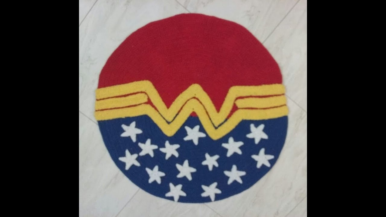 Artedale Croche Video Aula Simbolo Da Mulher Maravilha Passo A