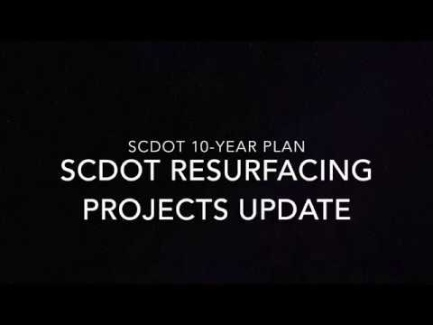 SCDOT Resurfacing Projects Update