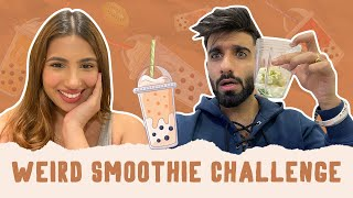 WEIRD SMOOTHIE CHALLENGE 🤢 | @Aashna Hegde | Mr.mnv #51 |