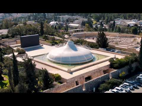 Shrine Of The Book, Israel Museum Aerial / היכל הספר במוזיאון ישראל, ירושלים