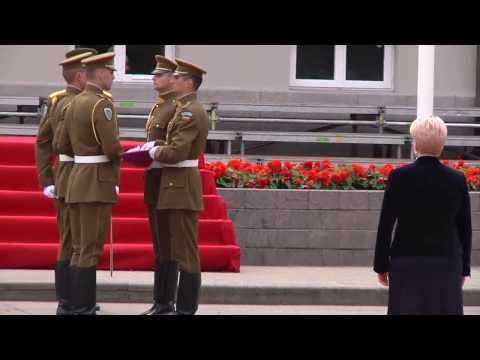 Dalia Grybauskaite Inauguration