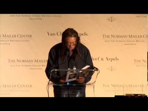 """Poet Quincy Troupe Reading """"Looking Into the Future"""" at 2013 NMC Gala"""
