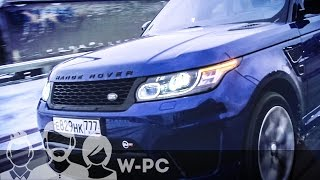 видео range rover sport svr от overfinc