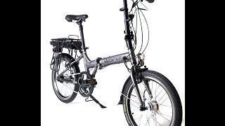 ebike electric bike review folding Wisper 806 Classic German Folder Electric Bike ebike