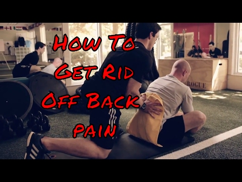 Lower back pain treatment at home - How to cure back pain naturally - Best working method 2017 -