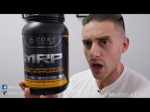 Core Nutritionals MRP Meal Replacement Protein Powder Supplement Review - MassiveJoes.com Raw Review