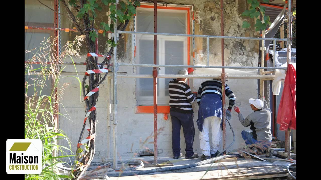 Refaire la facade de sa maison simple isolation thermique for Peinture ravalement castorama