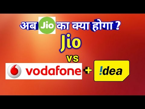 Jio Vs Vodafone + Idea | Jio what next?