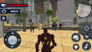 ► Superheros ironman vs Super Monster Villain & Secret Agent Best Ironman Game