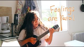 feelings are fatal - mxmtoon (cover) with my new mic! (Fifine Condenser Microphone K670B)