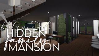 Bloxburg | Botanical Hidden Family Mansion | 160k | House Build