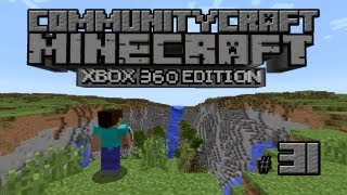 CommunityCraft Episode 31 | Diamonds, Oh Yeah! Lava, And A Mineshaft | MineCraft Xbox 360 Edition