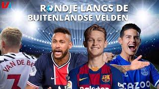 Frenkie Eindelijk Op Eigen Plek, James Rodriguez Is Weer Voetballer & Neymar Wil Op De Vuist