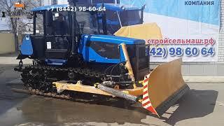 Купить Бульдозер ДТ-75 С4 с задней гидронавеской и универсальным отвалом БУДТ. СтройСельМаш.рф