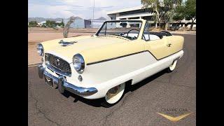 1959 Nash Metropolitan Convertible - For Sale!