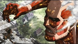 Repeat youtube video Top 10 Attack On Titan Moments