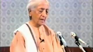 Jiddu Krishnamurti on marriage, relationships, family and love