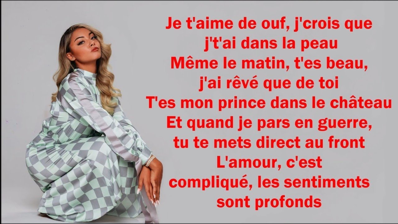 Download Wejdene - Je t'aime de ouf (Paroles/Lyrics)