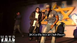 JiGGy Fly & Dj Kash at Club Pisces 11/7/11