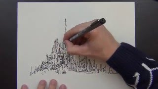 Drawing an Imaginary City and Stuff (and other stuff)(check it out)