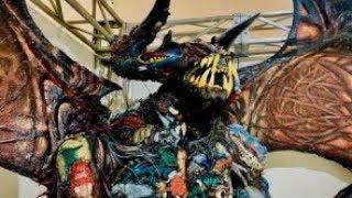 ウルトラマンゼロ 10周年 ニュージェネレーションアートワークスで百体怪獣ベリュドラを撮影 Ultraman Zero