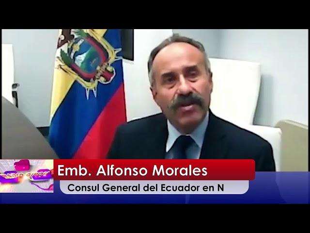 Radio Giron Consul de NJ Emb. Alfonso Morales 16 Junio  2021  lugar de Imprecion de pasaporte