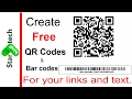 Online free qr code generator for your link. in hindi