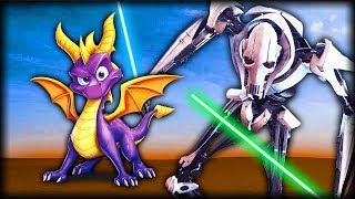 Can Spyro Defeat General Grievous? - Spyro Reignited Trilogy Gameplay
