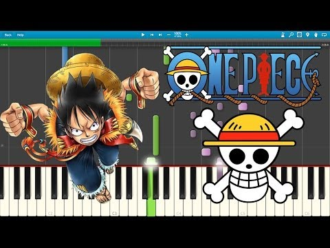 Bink's Sake - One piece (Piano Cover) [Synthesia]