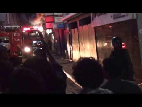 Maldives opposition TV station (Raajje TV) set ablaze