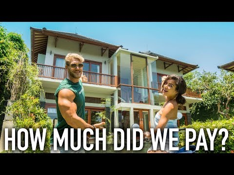 THE BEAUTIFUL VILLA TOUR IN BALI (VLOG)