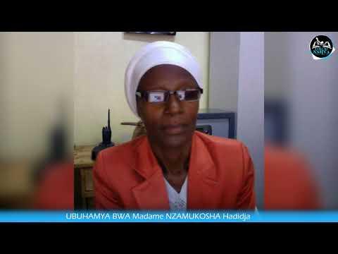 UBUHAMYA BWA NZAMUKOSHA Hadidja ABAKUZE MWE MURAHITA MUMWIBUKA KURI Radio Rwanda