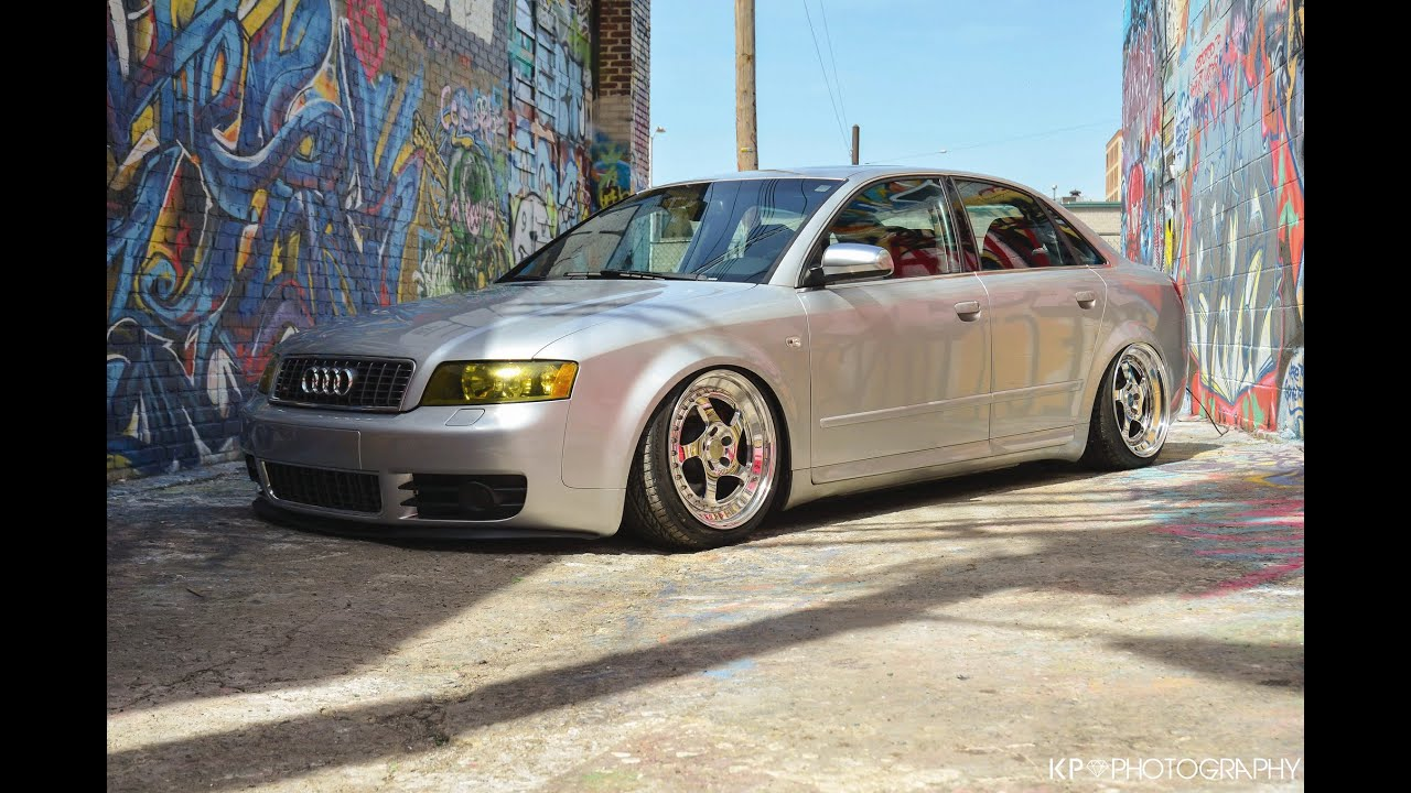 "Bagged 2004 Audi S4 ""Trap Queen"" - YouTube"