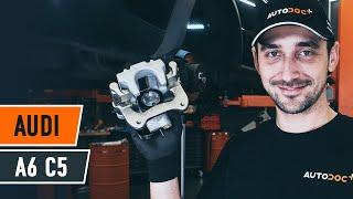 Installazione Pinze freni posteriore e anteriore AUDI A6: manuale video