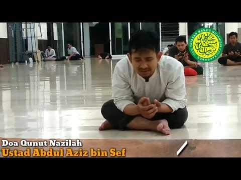 Qunut Nazila Qiyamul Lail Ramadhan 1438H di Masjid Mujahidin Surabaya