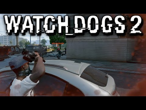 EXPLOSIVE HUNTING! WATCH DOGS 2 FUNNY MOMENTS