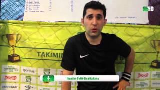 Real Ankara - İbrahim Çelik / ESKİŞEHİR / iddaa Rakipbul Ligi 2016 Açılış Sezonu