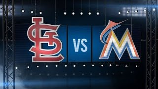 6/25/15: Kozma shines bright as Cards sweep Marlins