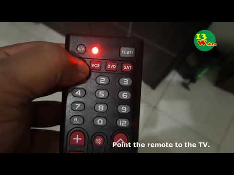 Setting Remote Universal- How To Configure RM-312x Universal Remote