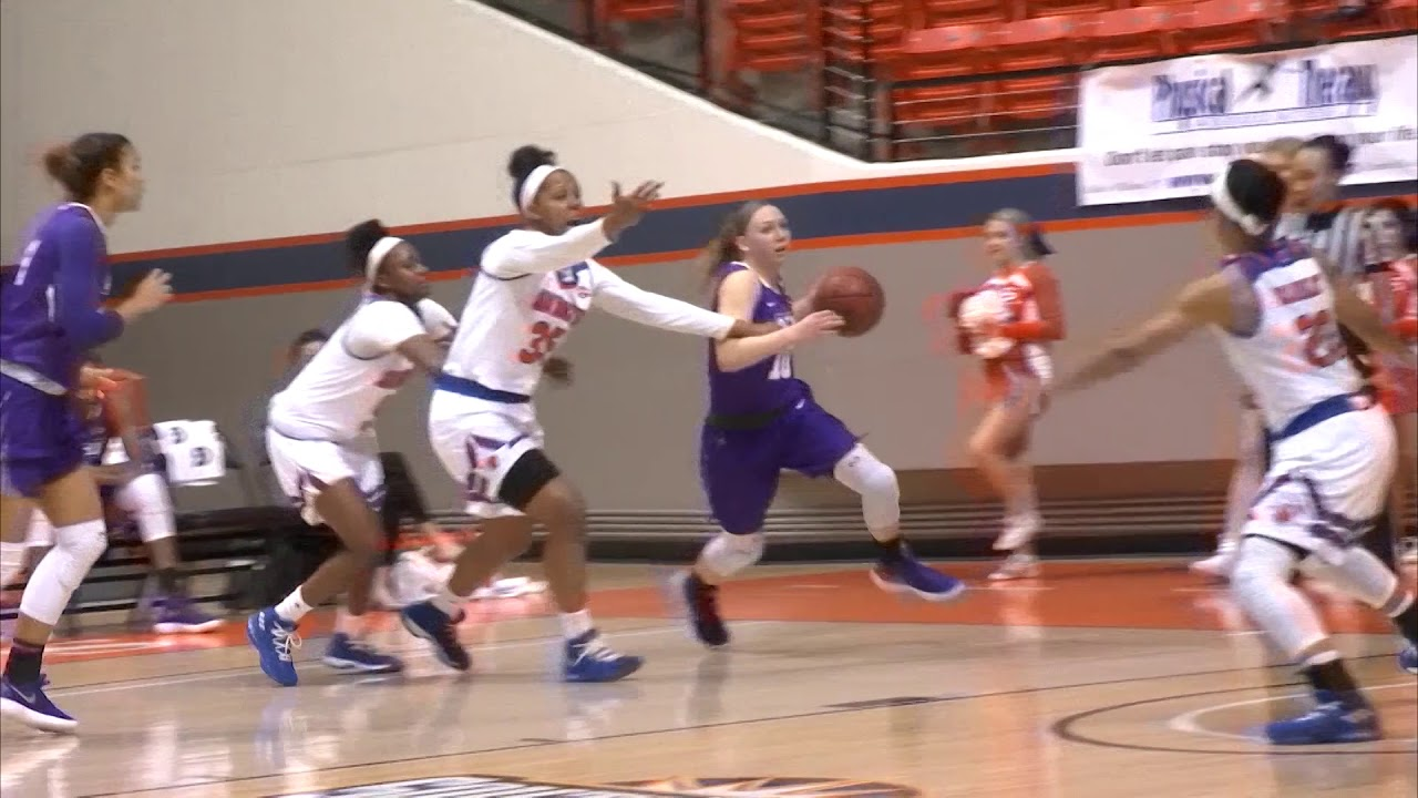 ACU Women's Basketball | ACU vs SHSU - YouTube