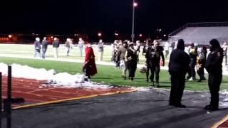 Cheyenne South High School Football Victory Celebration