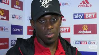 Clayton Donaldson on debut