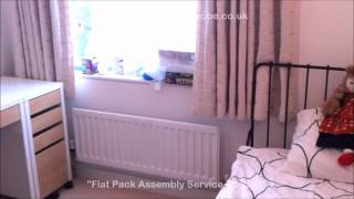 Ikea Furniture Design Ideas & Reviews   Home Office Study Room Desk, Chair, Storage, Meldal Day Bed