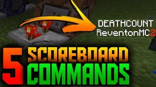 5 Uses of NEW Scoreboard Command - Minecraft PE 1.7.0.3